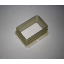 Backbox Lamp Shield 30mm x 50mm