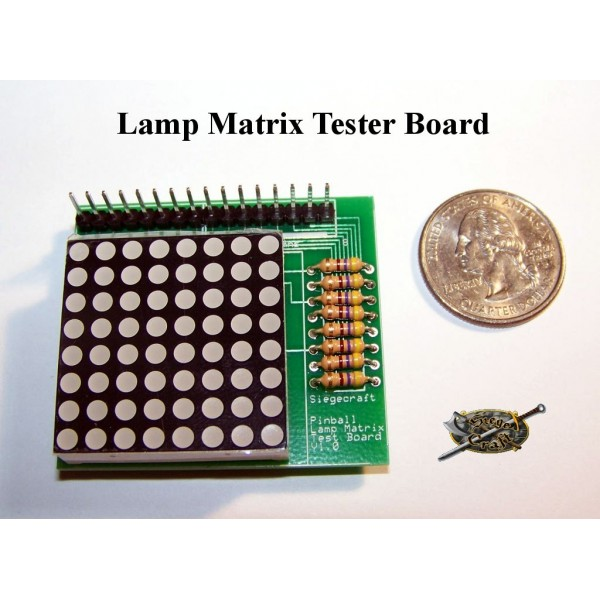 Sensational Lamp Matrix Tester Board Siegecraft Electronics Wiring Database Redaterrageneticorg