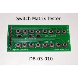 Switch Matrix Tester