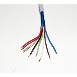 22ga 6 conductor wire