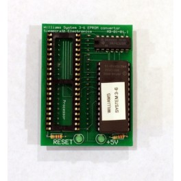 Williams Single EPROM adapter