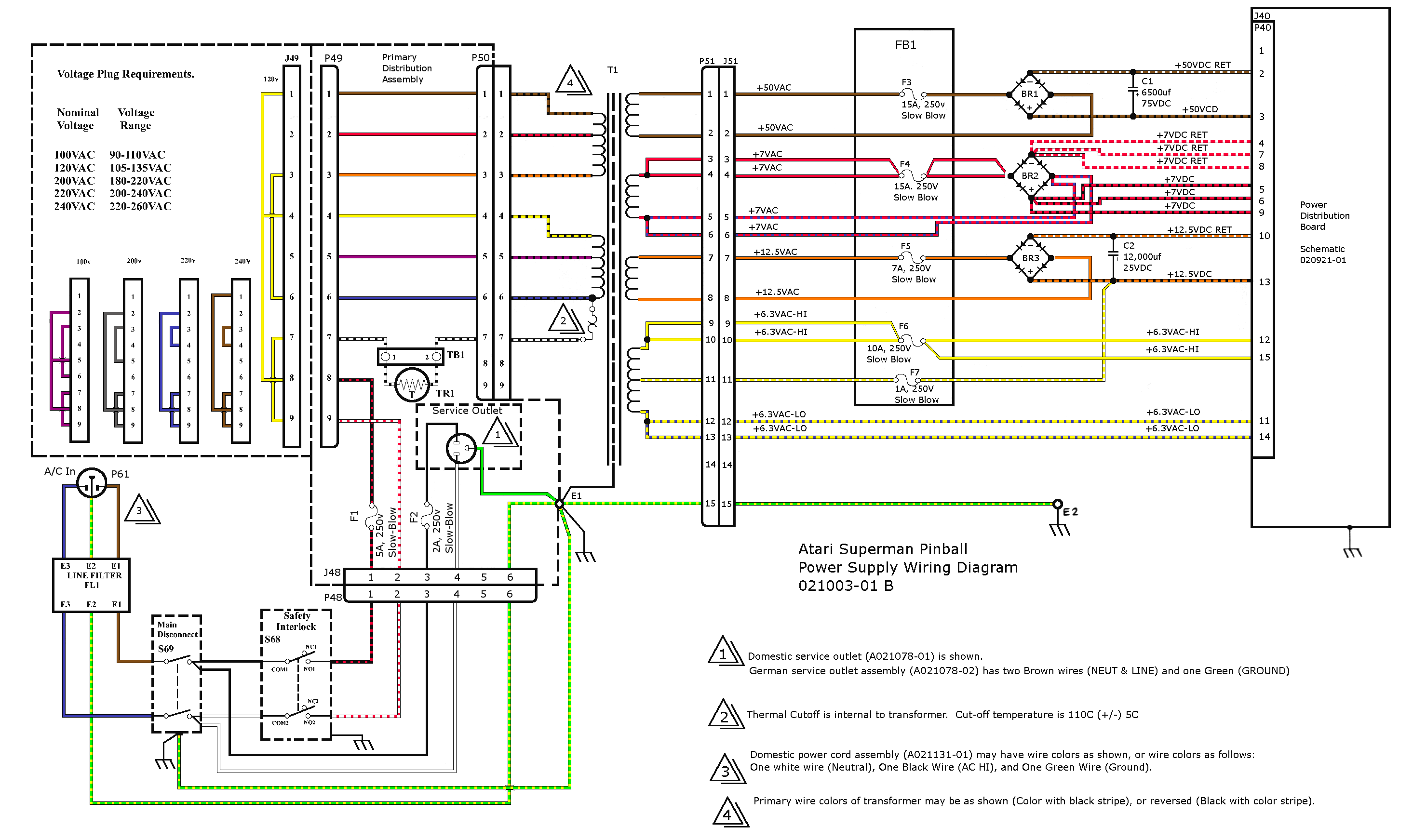 Pinball Wiring Diagrams Amazing Library Ibanez Sr305 Diagram