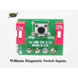 Williams Diagnostic Switch Inputs